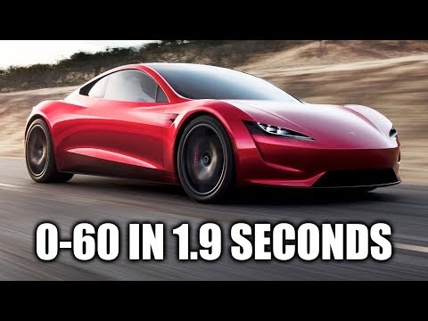 Engineering Explained pratar Tesla Roadster