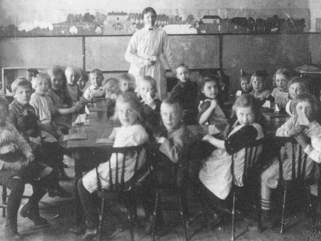 Barnträdgården på Väster är föregångare till dagens förskolor