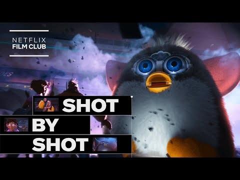 En närmare titt på Furby-scenen