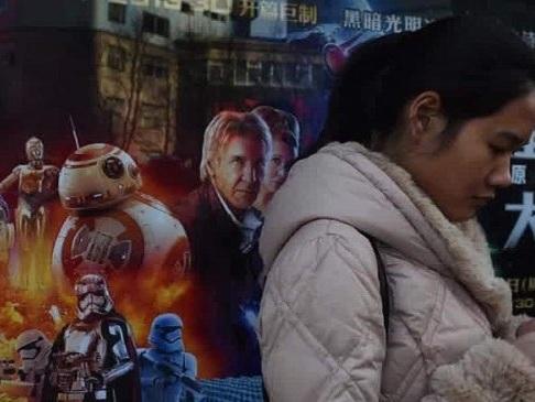 The Last Jedi plockas bort från kinesiska biografer