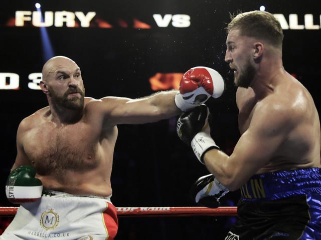 Otto Wallin föll mot Tyson Fury