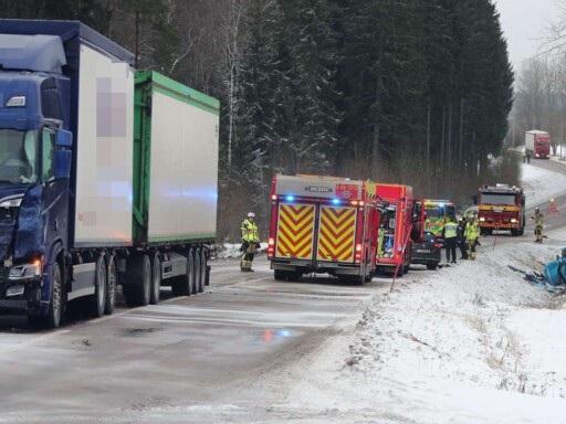"""Postnord-anställd svårt skadad i svåra olyckan –chefen i Borås: """"Djupt tragiskt"""""""