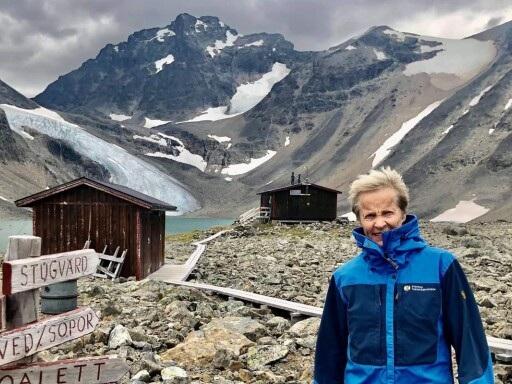 Stella sommarjobbade som stugvärd i Tarfala – Sveriges blåsigaste plats