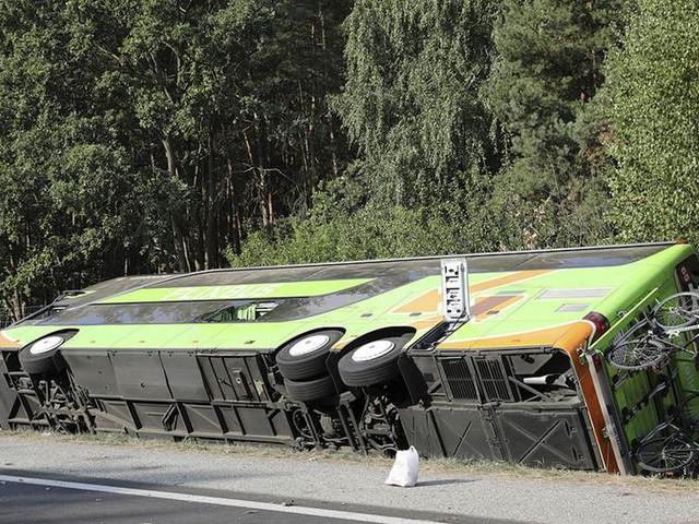 Svenskar inblandade i bussolycka – en skadad