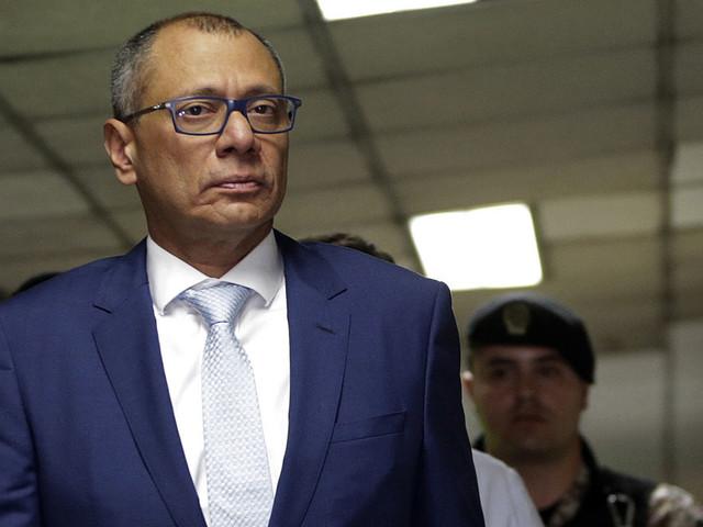 Ecuadors vicepresident åtalas