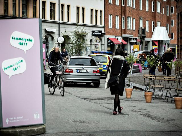 Malmös första sommargågata får tre år till
