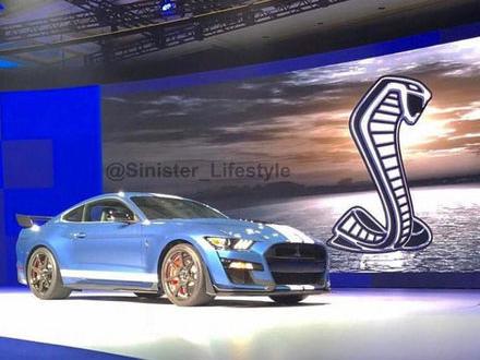 Nya Ford Mustang Shelby GT500 läcker ut