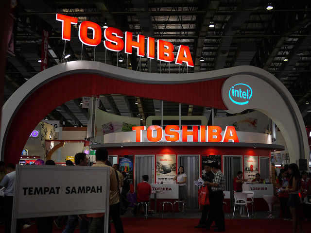 Toshiba säljer sin minnesverksamhet för 144miljarder kronor
