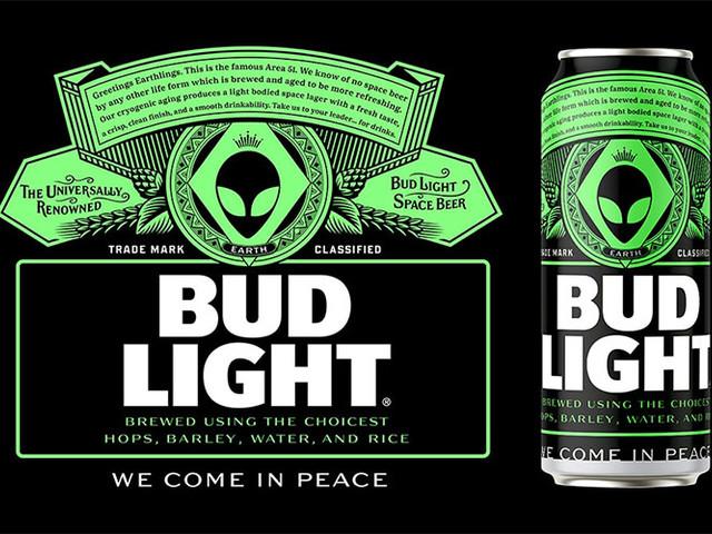Började som ett skämt – nu kan Bud Lights alienöl bli verklighet