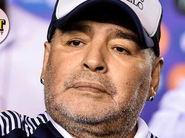 """JUST NU: """"Diego Maradona död"""""""