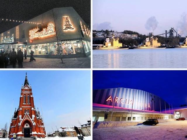 QUIZ: Kan du Luleås kända byggnader?
