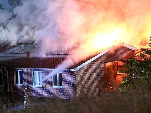 Ny brand i asylboende utanför Ystad