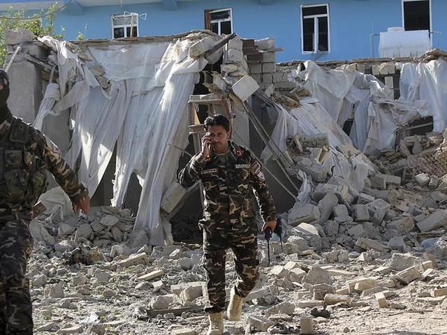 Många döda i självmordsdåd i Afghanistan