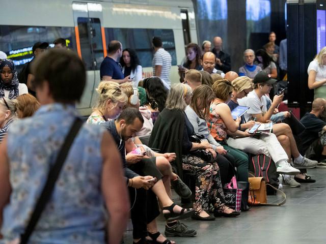 Älgkrockar, värme och många tågstopp ger trånga Öresundståg
