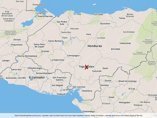 Strömlöst i Centralamerika