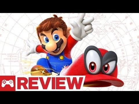 IGN och GameSpot recenserar Super Mario Odyssey