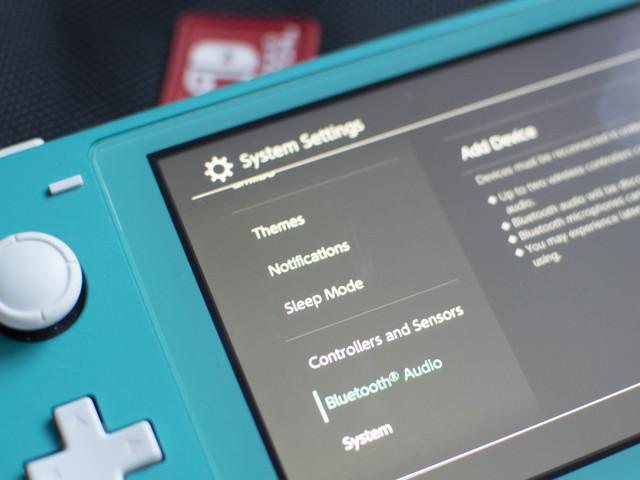 Nintendo Switch lämnar stenåldern – får stöd för trådlöst ljud via Bluetooth