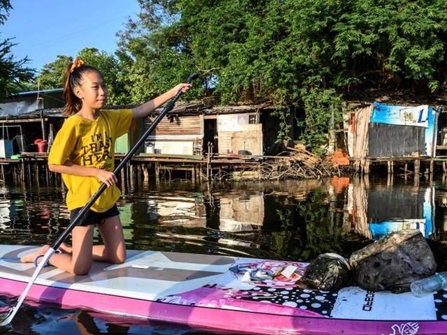 Thailands Greta Thunberg krigar mot plasten
