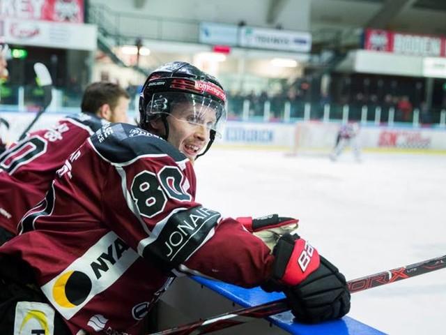 Forward lämnar Boden Hockey