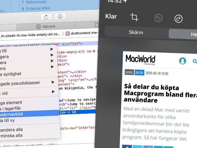 7 smarta sätt att ta skärmdumpar på Mac och i IOS