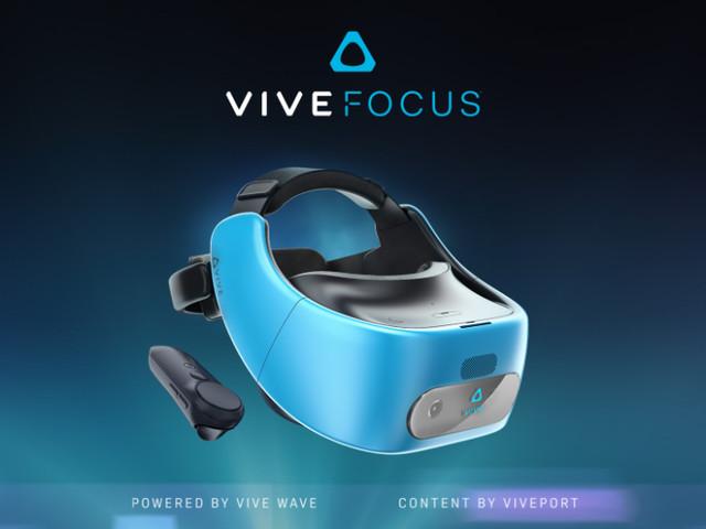 HTC introducerar Vive Focus – fristående VR-headset som baseras på Snapdragon 835