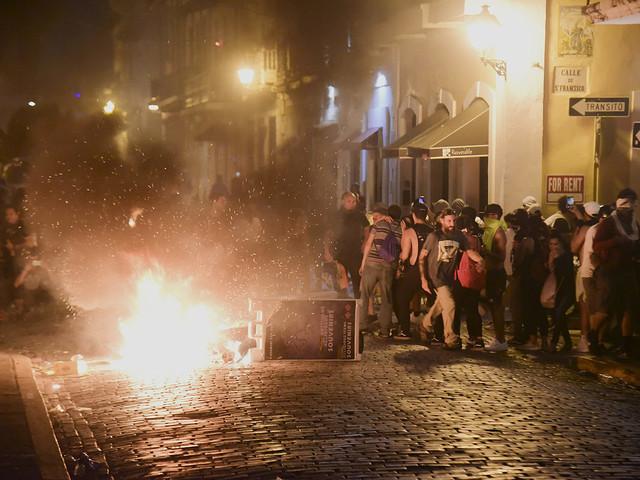 Politisk kris i Puerto Rico efter chattläcka