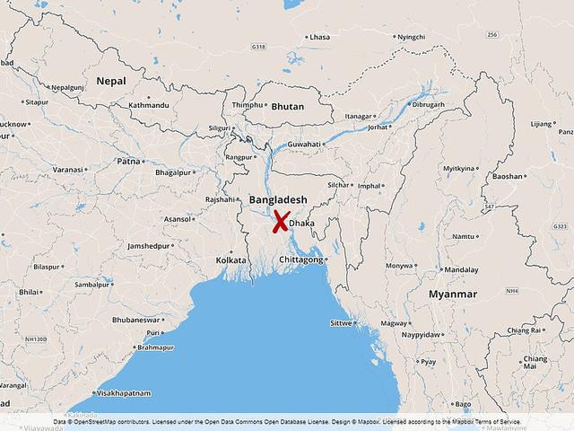 Många döda i brand i Bangladesh