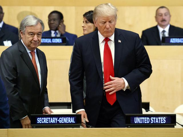 Trump har rätt om FN.