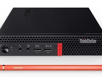 Lenovos nya arbetsstation rymmer rejäl kraft i ett pyttepaket