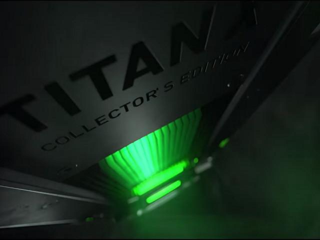 Nvidia visar Titan X Collector's Edition