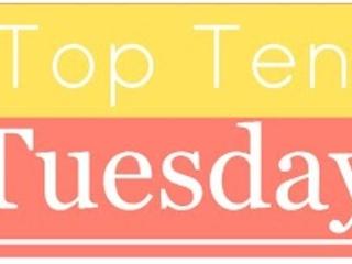 Top Ten Tuesday: Böcker jag inte hann med 2017