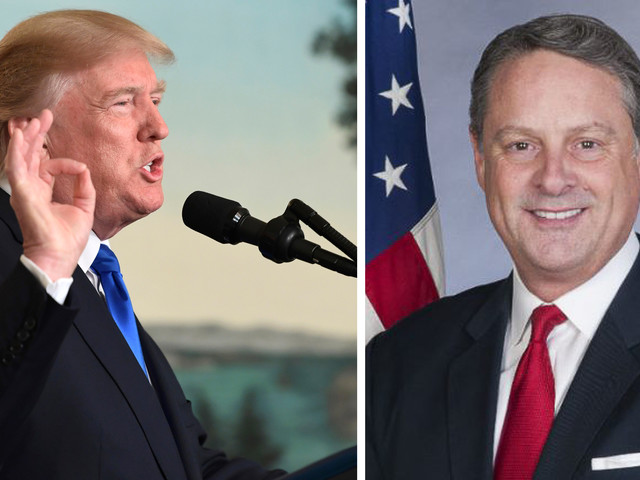 Ambassadör avgår – klarar inte av Trump