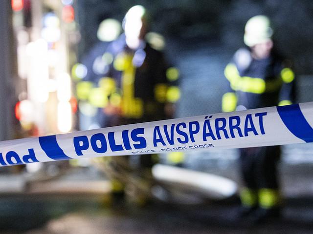 """""""Farligt föremål"""" i centrala Malmö"""