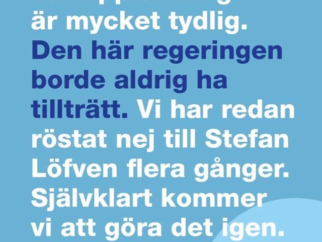 Sverige behöver en moderatledd regering!