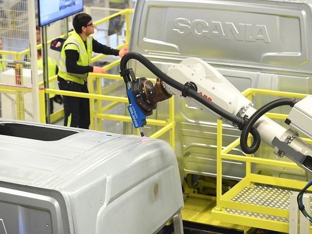 Scania noteras på Stockholmsbörsen