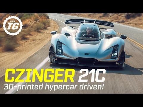 Top Gear provkör Czinger 21C