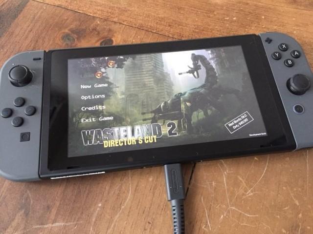 Wasteland 2-utveckligen går snabbt framåt till Switch