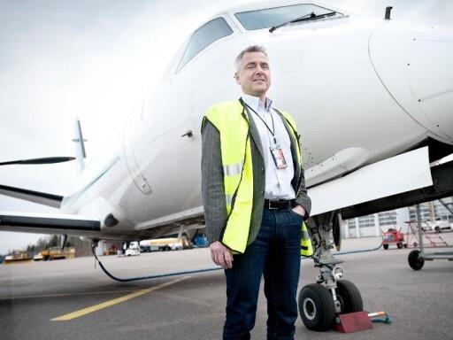 Inreseförbudet ställer till det för Växjös nystartade flyglinje