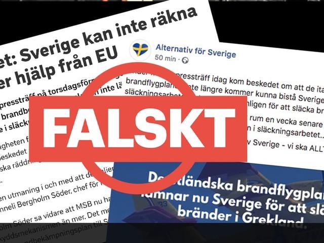Nej, Sverige står inte helt utan brandflygplan i släckningsarbetet