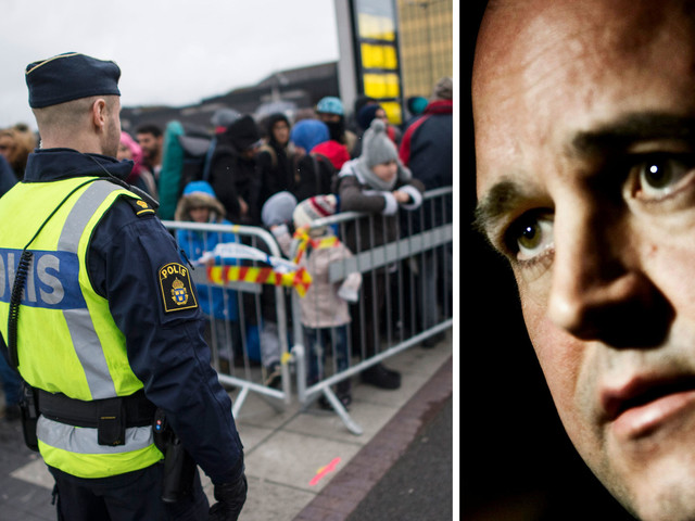Moderaterna vill sätta tak för hur många flyktingar Sverige tål innan landet är fullt