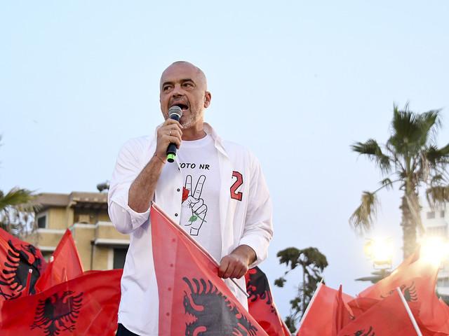 Socialister går mot seger i Albaniens val