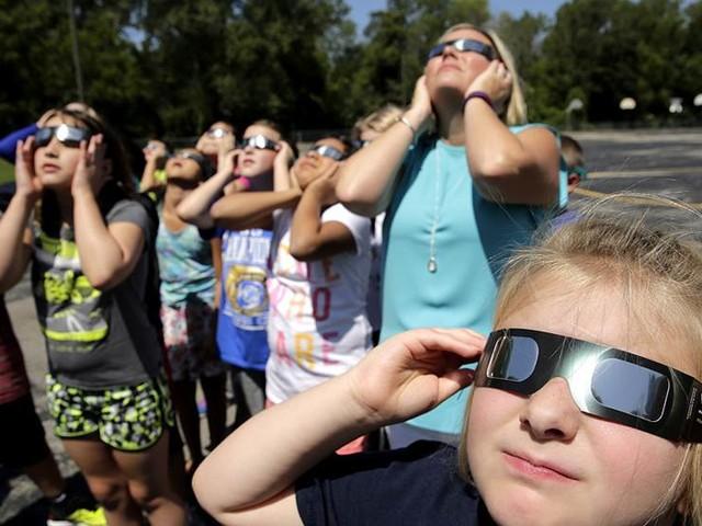 USA väntar på den stora solförmörkelsen