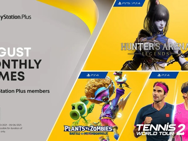 Playstation Plus-spelen för augusti bekräftade