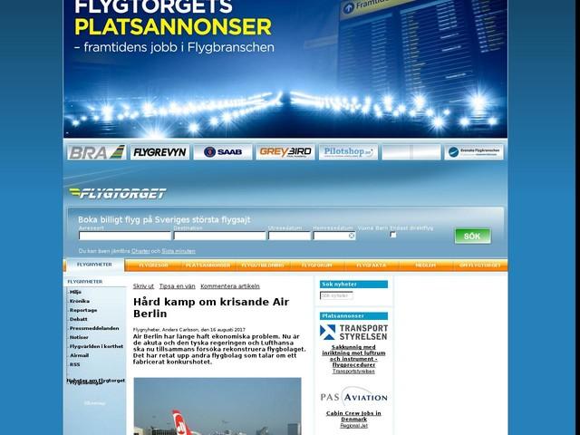 Hård kamp om krisande Air Berlin