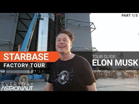 Guidad tur av Starbase med Elon Musk