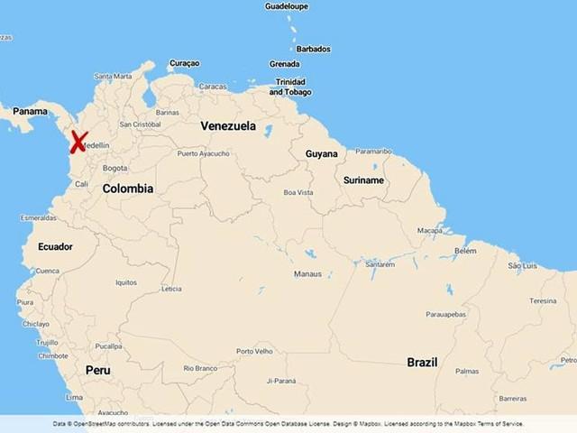 Kyrkogård i Colombia grävs ut i mordutredning