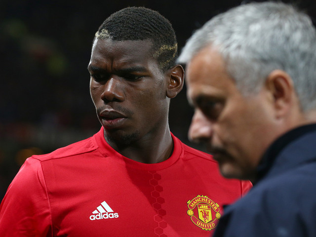 "Mourinho ifrågasätter Pogba: ""Inte bra"""