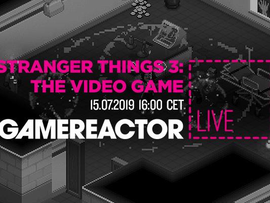 Gamereactor Live: Vi kollar in spelet Stranger Things 3