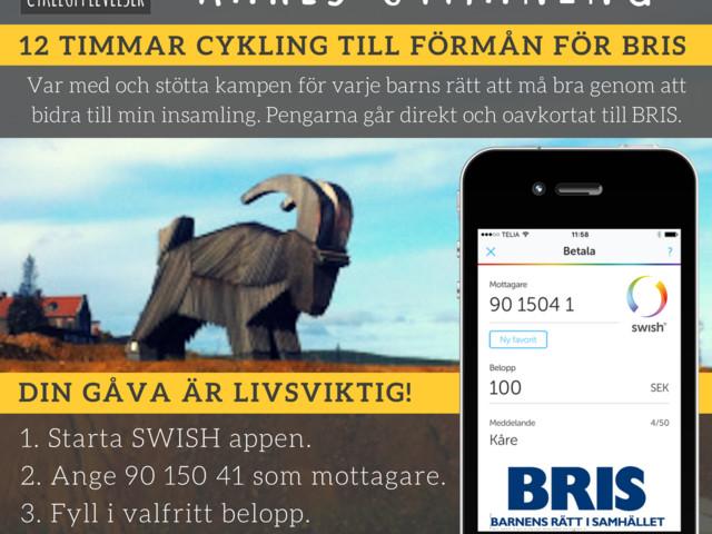 Kåres utmaning till förmån för BRIS!