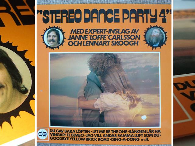 "Janne ""Loffe"" Carlsson och danspartyt i stereo"